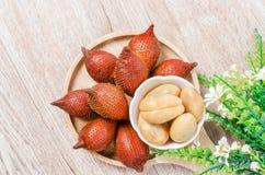 La palma salak, rinuncia o serpeggia la frutta Fotografia Stock Libera da Diritti