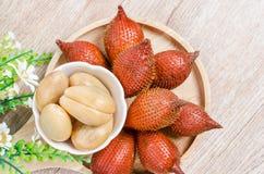 La palma salak, rinuncia o serpeggia la frutta Immagini Stock