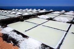 La Palma Salinas de fuencaliente saltworks Royalty Free Stock Image