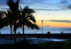 La Palma Ufer Lizenzfreies Stockbild