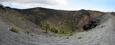 La Palma volcano  San Antonio Royalty Free Stock Photo