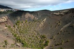 La Palma volcano  San Antonio Royalty Free Stock Photos