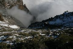 La Palma volcanoes Stock Photography