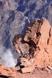 La Palma Vulkan Lizenzfreie Stockfotos