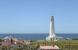 La Paloma Lighthouse, Rocha, Uruguai Fotos de Stock Royalty Free