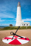 La Paloma lighthouse Uruguay Royalty Free Stock Image