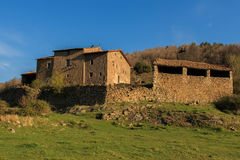 La Palomera: a farmhouse in the middle of the forest.  royalty free stock photo