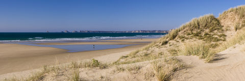 La Palue beach near Crozon Royalty Free Stock Image