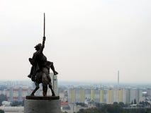 La panoramica di Bratislava Fotografia Stock Libera da Diritti