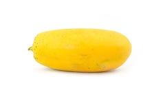 La papaya es frutas esféricas Foto de archivo libre de regalías