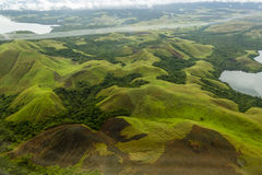 La Papuasia, lago Jayapura Sentani fotografia stock