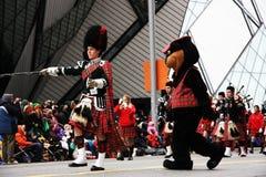 La parata 2008 del Babbo Natale Fotografie Stock