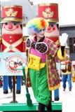 La parata 2008 del Babbo Natale Fotografie Stock Libere da Diritti
