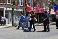 La parata annuale Glendale/di Ridgewood Memorial Day immagini stock libere da diritti