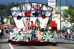 La parata cinese di nuovo anno a Los Angeles Immagini Stock Libere da Diritti
