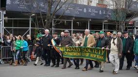 La parata 2015 del giorno di San Patrizio 149 Fotografia Stock
