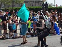 La parata 2013 della sirena di Coney Island 219 Fotografia Stock Libera da Diritti