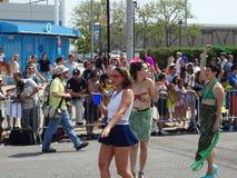 La parata 2013 della sirena di Coney Island 255 Fotografia Stock