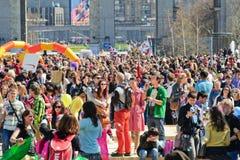 La parata delle bolle di sapone Fotografia Stock Libera da Diritti