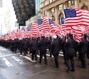 La parata di giorno della st Patrick Immagini Stock Libere da Diritti