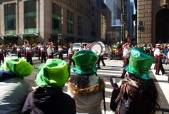 La parata di giorno della st Patrick Fotografia Stock