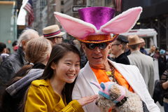 La parata 138 di 2015 NYC Pasqua Fotografie Stock Libere da Diritti