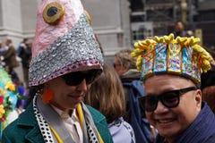 La parata 106 di 2015 NYC Pasqua Fotografie Stock Libere da Diritti