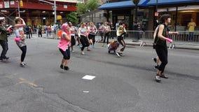 La parata New York 100 di 2013 balli Fotografie Stock