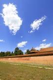 La pared alta en las tumbas reales del este de Qing Dynasty, ch Fotos de archivo