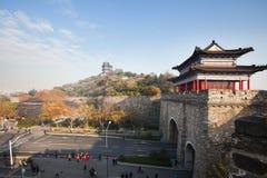 La pared antigua de Nanjing Fotografía de archivo