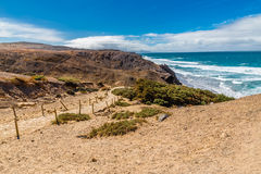 La Pared Beach-Fuerteventura,Canary Islands, Spain. La Pared Volcanic Beach - Fuerteventura, Canary Islands, Spain Stock Image