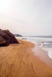 La Pared coast on Fuerteventura island. Sand coast near La Pared village on the south western part of Fuerteventura island Stock Photos