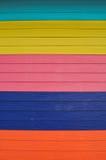 La pared colorida Foto de archivo libre de regalías