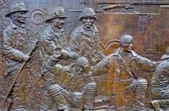 La pared conmemorativa Fotografía de archivo libre de regalías