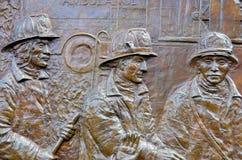 La pared conmemorativa Imagenes de archivo