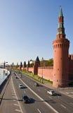 La pared de Kremlin Fotografía de archivo libre de regalías
