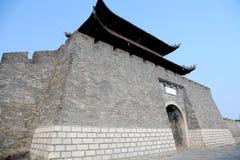 La pared de la ciudad antigua en China Fotografía de archivo libre de regalías