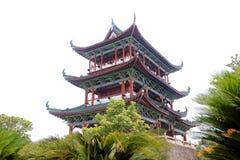 La pared de la ciudad antigua en China Imágenes de archivo libres de regalías