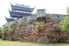 La pared de la ciudad antigua en China Fotografía de archivo