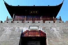 La pared de la ciudad antigua en la ciudad de Ganzhou, China Imagenes de archivo