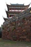 La pared de la ciudad antigua en la ciudad de Ganzhou, China Fotografía de archivo