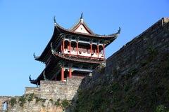 La pared de la ciudad antigua en la ciudad de Ganzhou, China Fotos de archivo