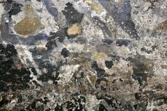 La pared de la ciudad pintada textures el fondo de la pintada Fotografía de archivo