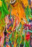 La pared de la cuerda de rosca Imagen de archivo libre de regalías