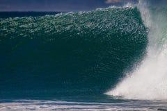 La pared de la onda brilla textura Fotografía de archivo libre de regalías