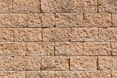 La pared de la piedra arenisca Imágenes de archivo libres de regalías