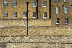 La pared de la torre Fotografía de archivo