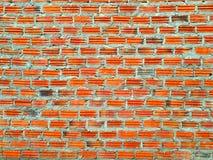 La pared de ladrillo Foto de archivo libre de regalías