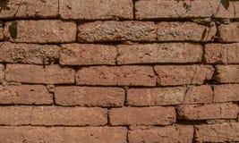 La pared de ladrillo más vieja La textura del fondo Imagen de archivo