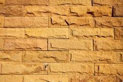 La pared de ladrillo moderna emergió Fotografía de archivo libre de regalías
